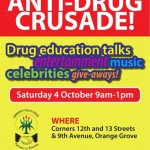 Sector 4 Drug Awareness Drive - 4th Oct 2014